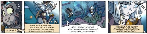 Lheïra pense que Gryf peut sauver sa vie en fusionnant avec Eternity