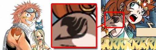 Le tatouage est celui de Fairy Tail