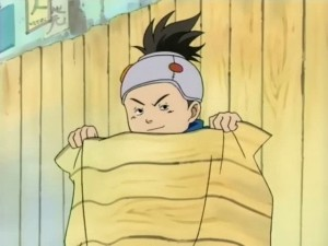 Naruto - Konohamaru dissimulation