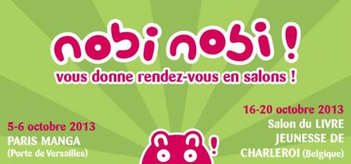 image nobi nobi venue sur Paris Manga et salon jeunesse de Chaleroi
