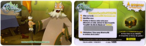 Commode Enutropf - carte Wakfu