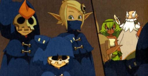 Yugo, Tristepin et Evangelyne sont déguisés en Sram