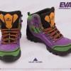 Chaussure de randonnées Evangelion 01 mauve et vert