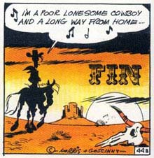 i'm a poor lonesome cowboy (Lucky Luke)