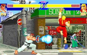 Ryu et Ken - Street Fighter 2