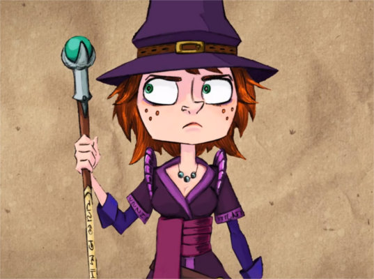 Magicienne de la série TV de Naheulbeuk