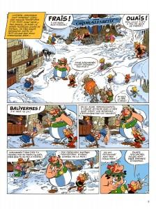 Page 1 de Astérix chez les Pictes