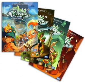 Collection de BD Wakfu (série TV)