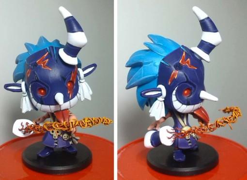 Dokfa Talys avec fouet (Krosmaster custom)