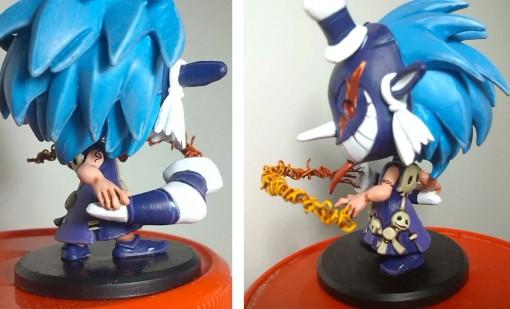 Dokfa Talys avec fouet - détails (Krosmaster custom)