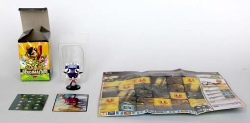 Contenu de la boîte Blind Box de la Figurine Krosmaster Dokfa Talys (Dofus)