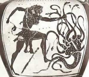 Hercule contre l'Hydre