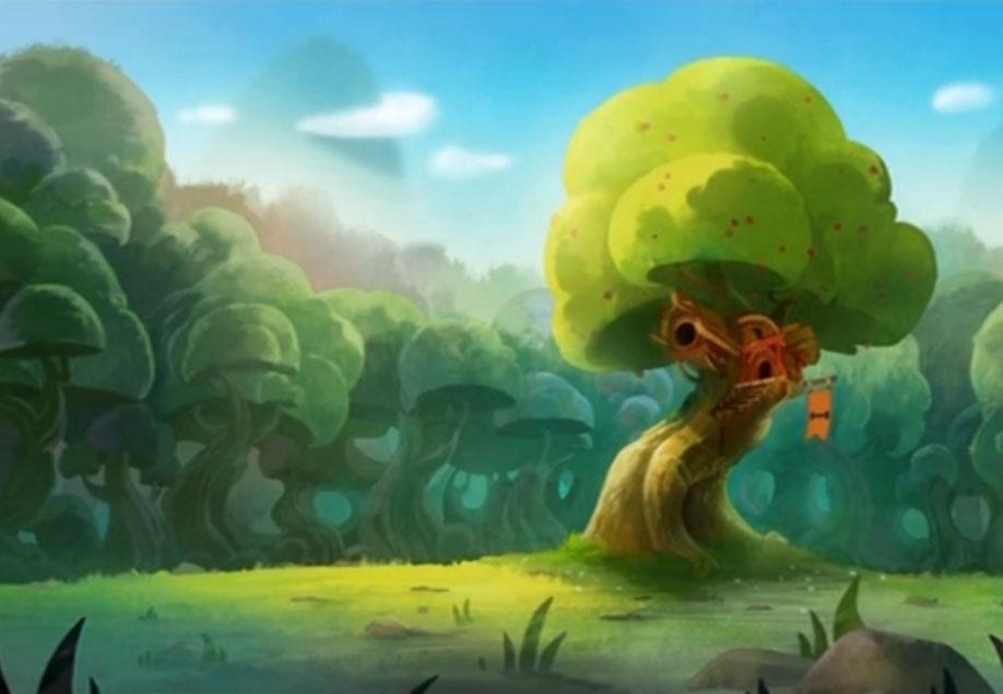 La cabane dans l'arbre de Kerubim