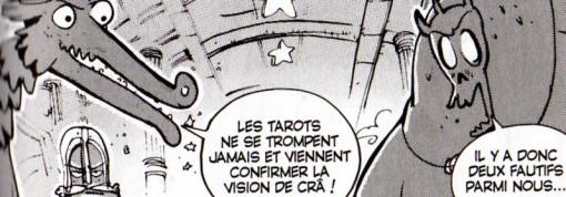 Le dieu Enutrof prétend que le Tarot Sacré d'Ecaflip ne se trompe jamais