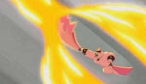 L'épée Neuf Queues résiste aux flammes de l'Hydre