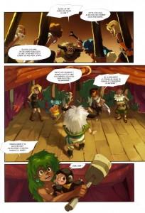 Page 1 du Tome 5 de Wakfu - Le Théâtre Maudit