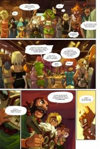 Page 2 du Tome 5 de Wakfu - Le Théâtre Maudit