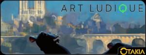 """Header Musée Art Ludique avec l'exposition """"Pixar, 25 ans d'animation"""""""