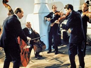 musiciens du Titanic