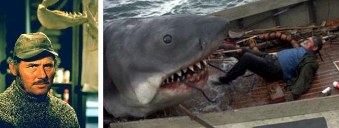 Quint - Les dents de la mer