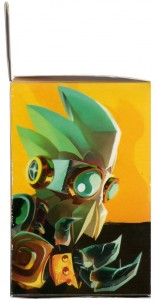 face droite de la boite de Captain Amakna et Merkator
