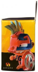face gauche de la boite de Captain Amakna et Merkator