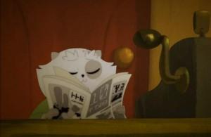 Kerubim tient un journal qui évoque le 20 Minutes