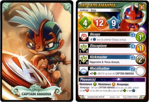 Carte Krosmaster de Captain Amakna