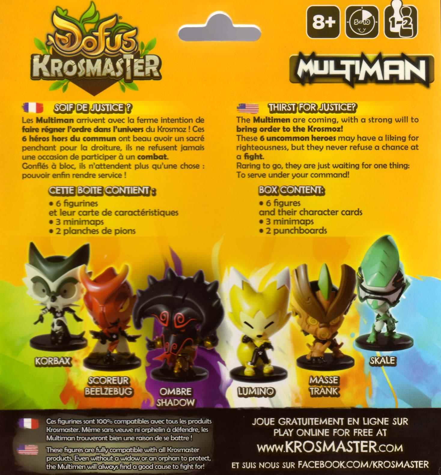 Dos du Pack Krosmaster Multiman