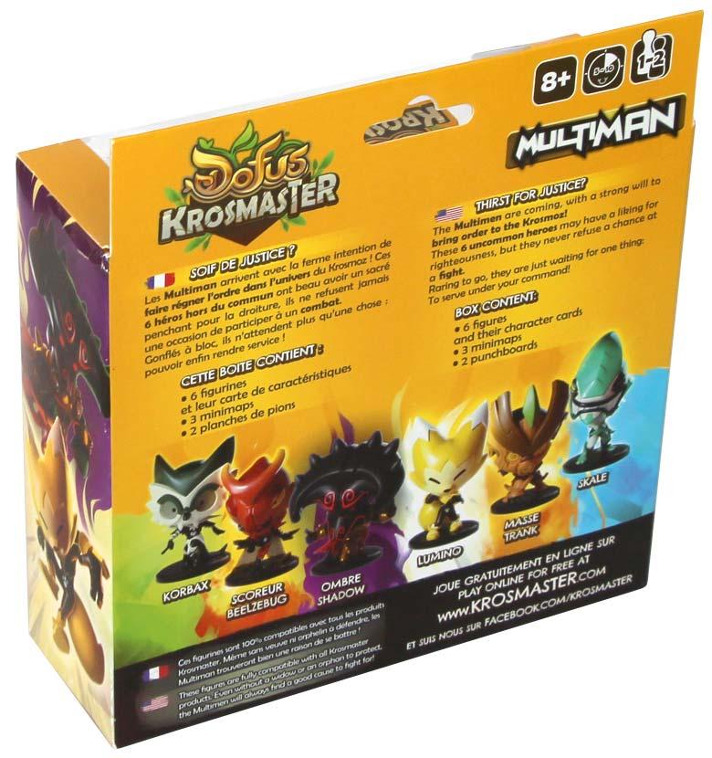 dos du Pack Krosmaster Multiman (Dofus)