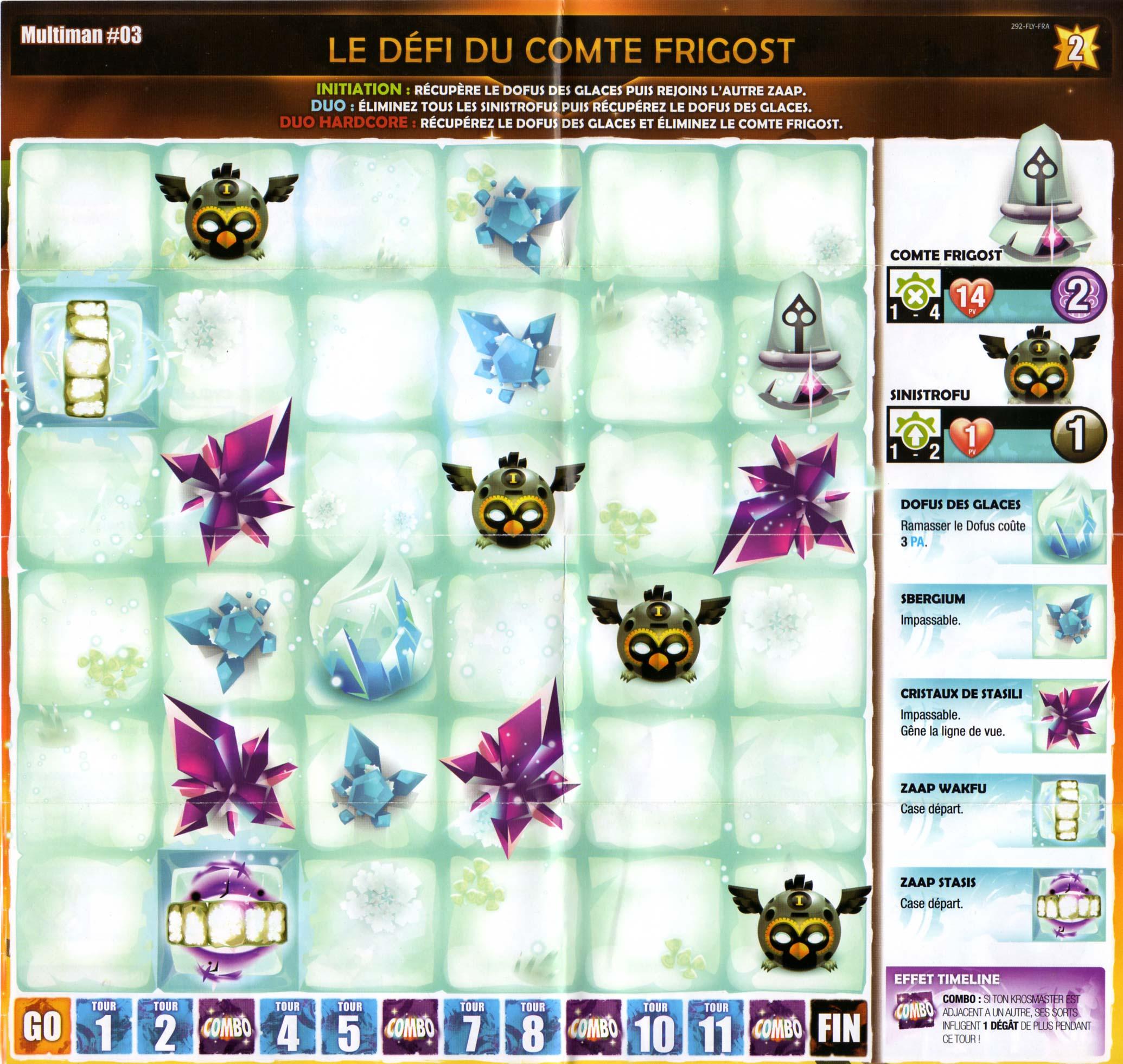 Krosmaster Multiman mini plateau 3 - Comte Frigost