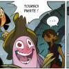 Encre Noire lit l'annonce du XVIe Tournoi Pirate