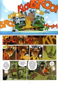 Page 1 de Tangomango - Tome 2 : La gazette du pirate (Wakfu)