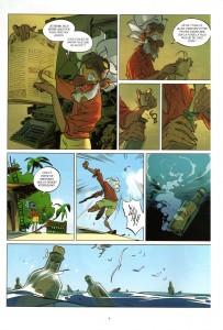 Page 2 de Tangomango - Tome 2 : La gazette du pirate (Wakfu)