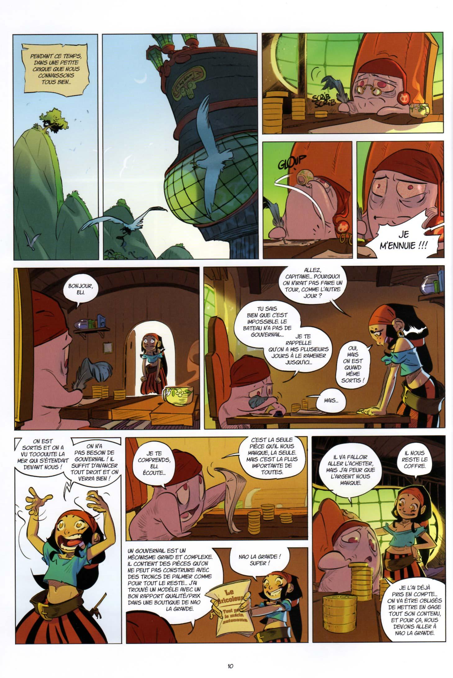 Page 8 de Tangomango - Tome 2 : La gazette du pirate (Wakfu)