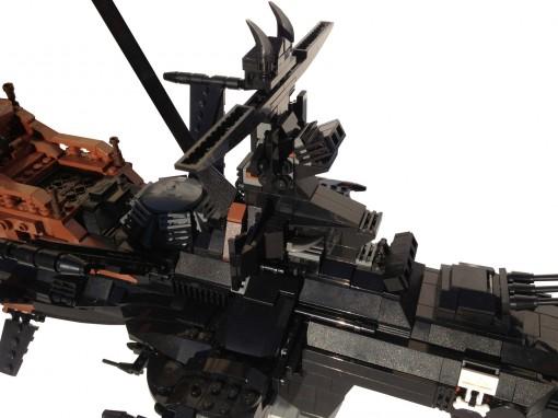 Poste de pilotage de l'Atlantis en Lego (Arcadia)