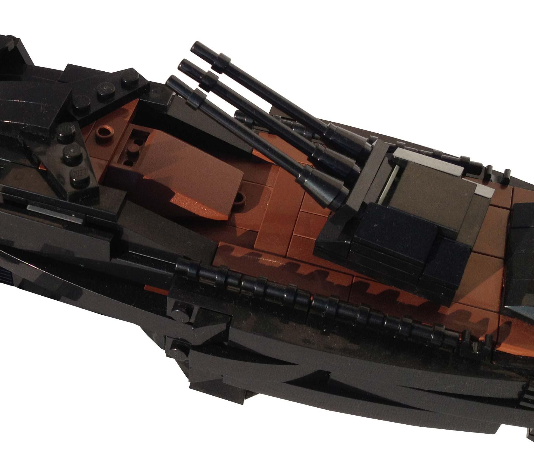 Tourelles de l'Atlantis en Lego