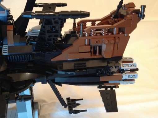 Réacteurs de l'Atlantis en Lego (Arcadia)