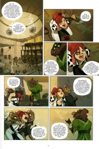 Page 1 du tome 2 de Kerubim