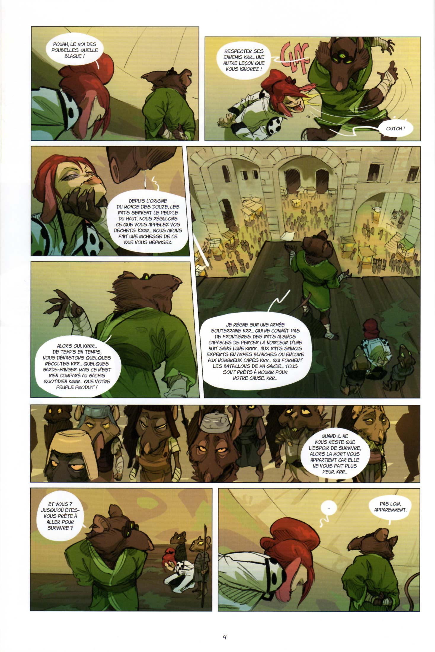 Page 2 du tome 2 de Kerubim