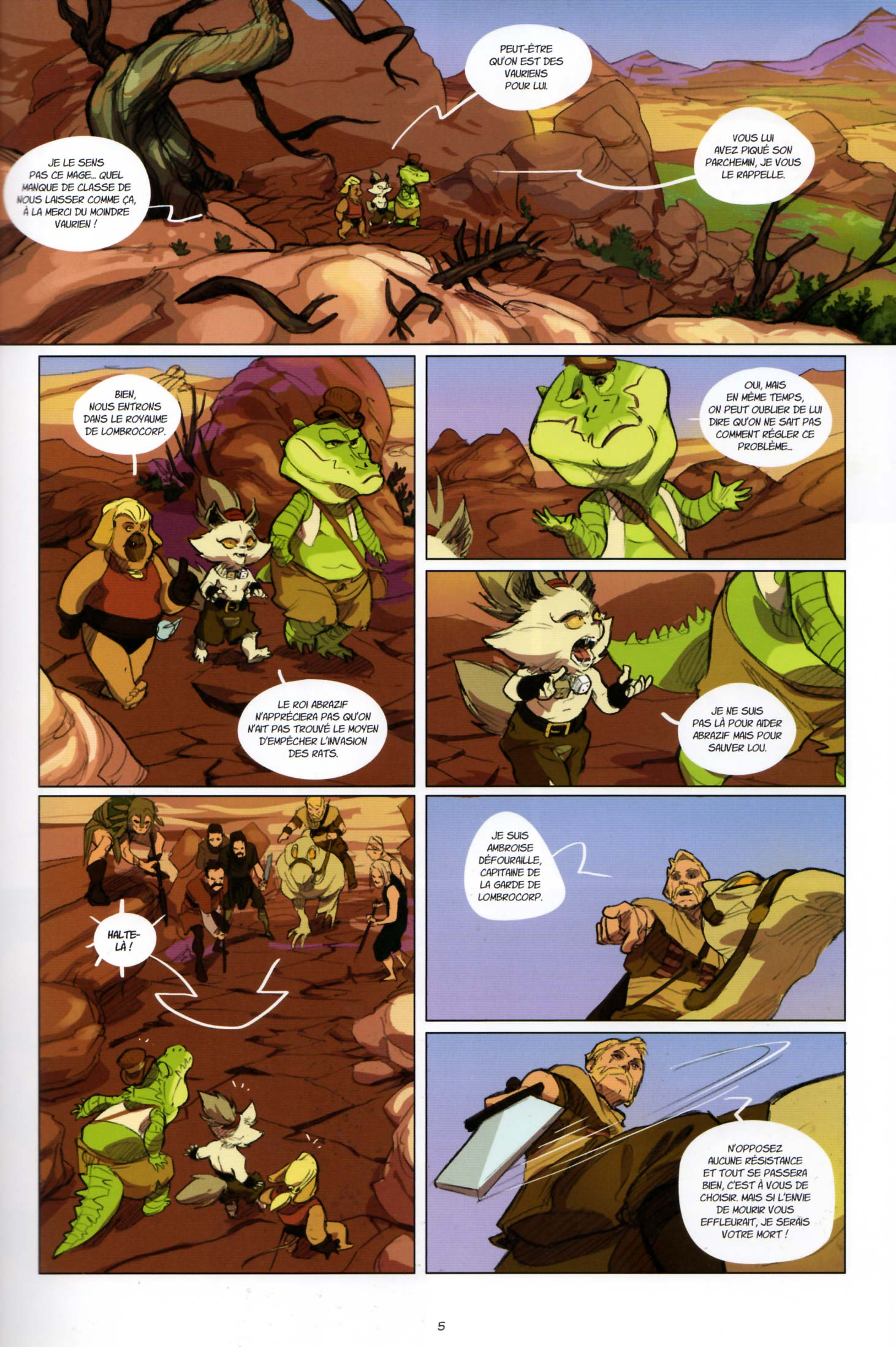 Page 3 du tome 2 de Kerubim