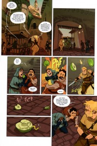 Page 4 du tome 2 de Kerubim