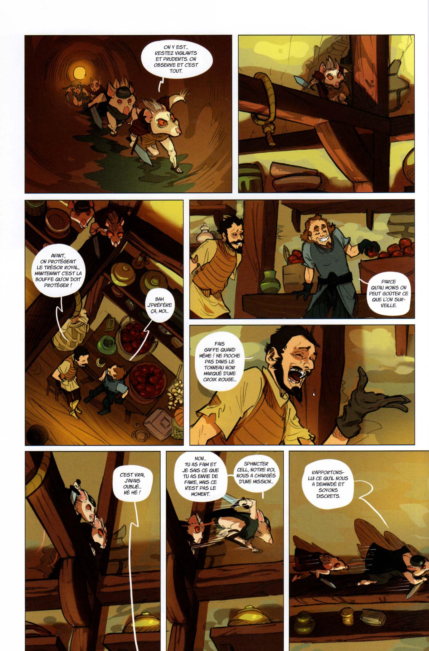 Page 6 du tome 2 de Kerubim