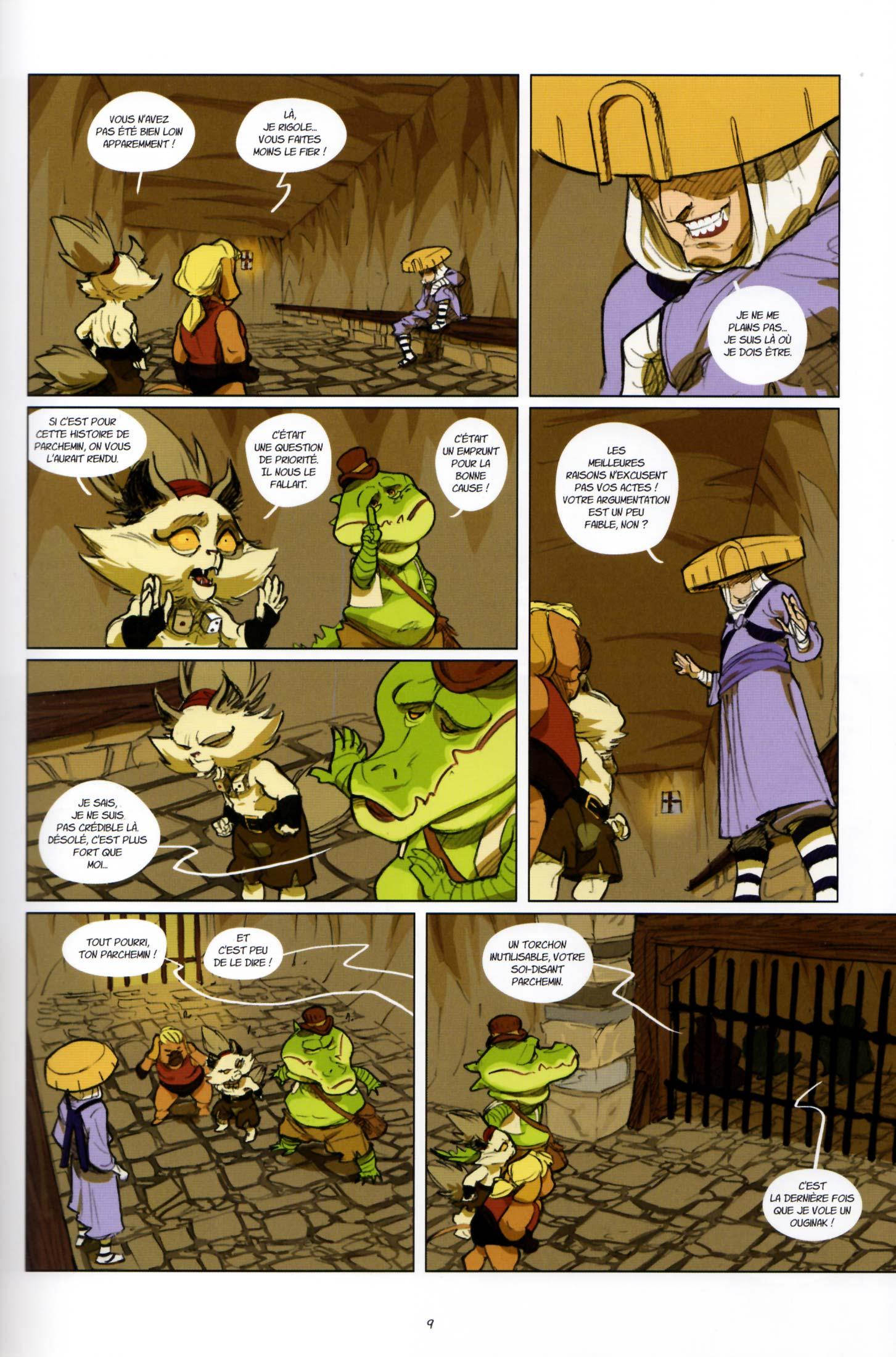 Page 7 du tome 2 de Kerubim