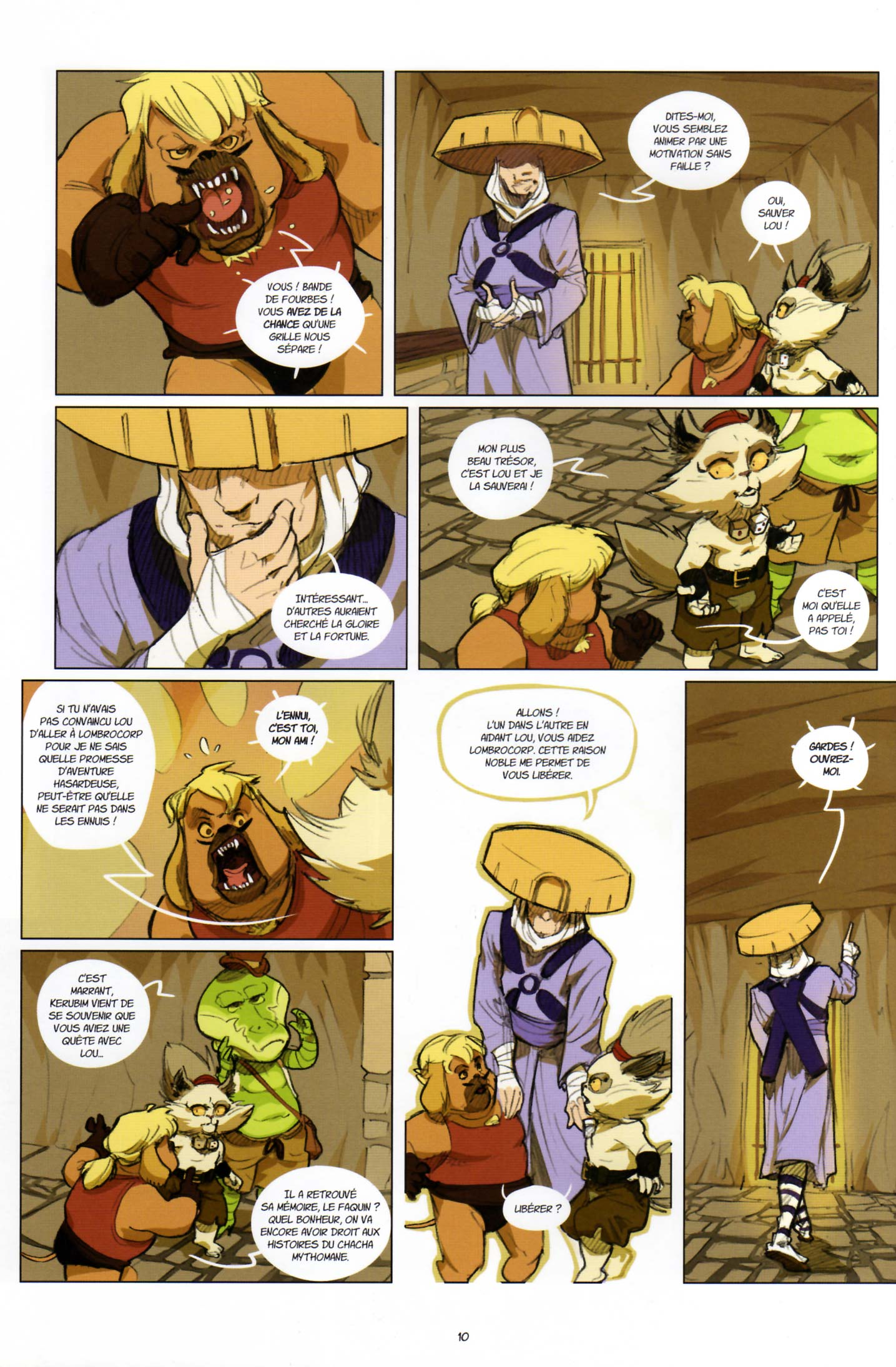 Page 8 du tome 2 de Kerubim