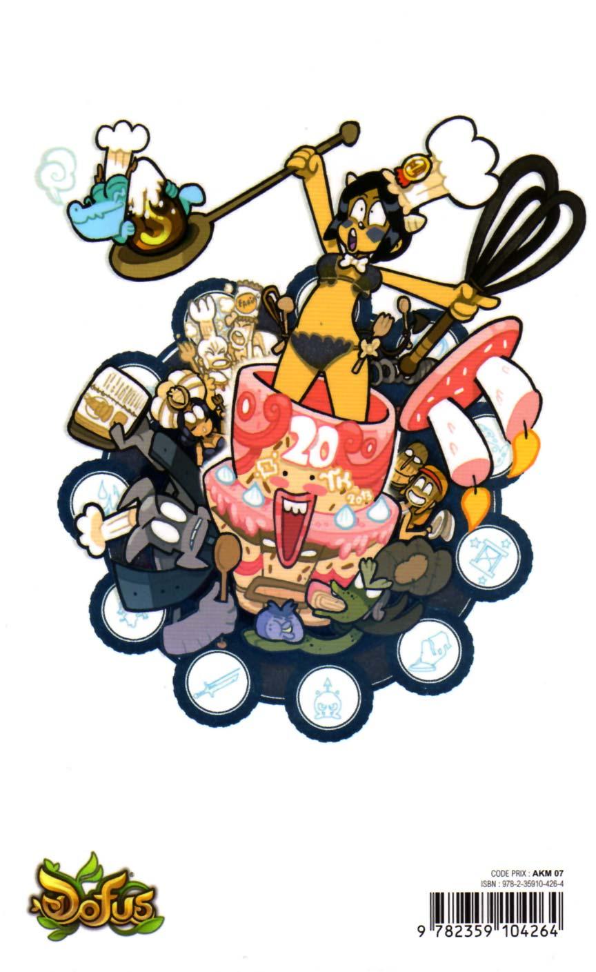 quatrième de couverture du manga Dofus Tome 20 : Bataille royale