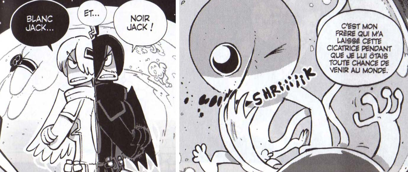 Blanc Jack et Noir Jack