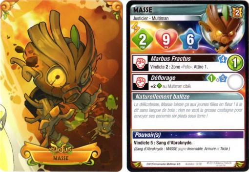 Masse - Carte Krosmaster