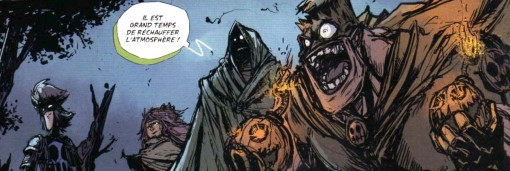 les super vilains sont des allusions aux Comics