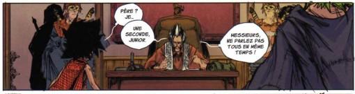 le Chevalier Justice père délaisse son fils